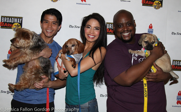 Telly Leung, Arielle Jacobs, and Major Attaway