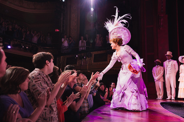 Photo Flash: So Long Dearies! Bernadette Peters & Victor Garber Take Final Bows in HELLO, DOLLY!