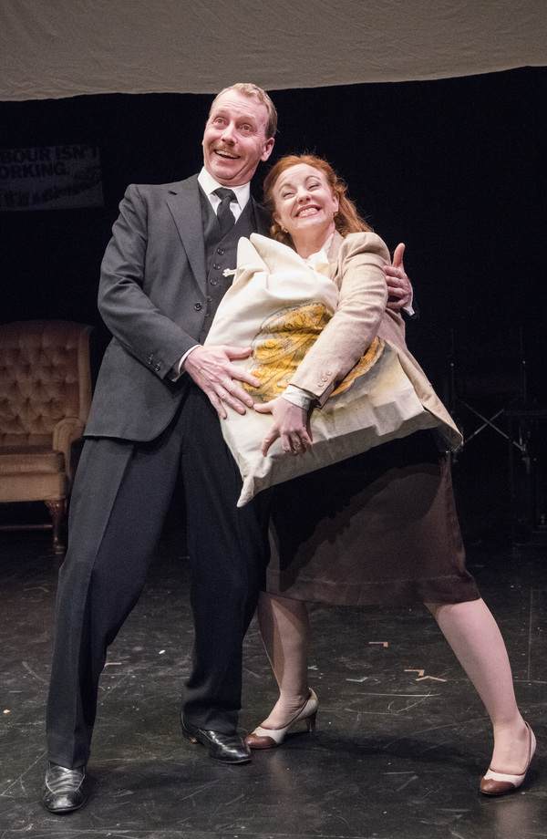 Jonathan Tindle and Tara Giordano