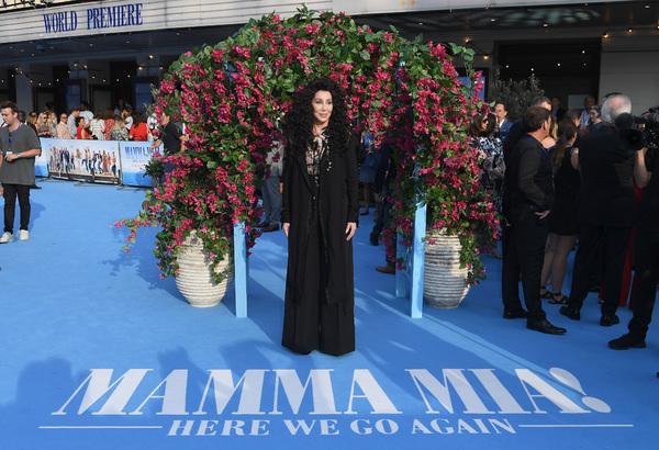 Photos: Premiere de MAMMA MIA! UNA Y OTRA VEZ en Londres