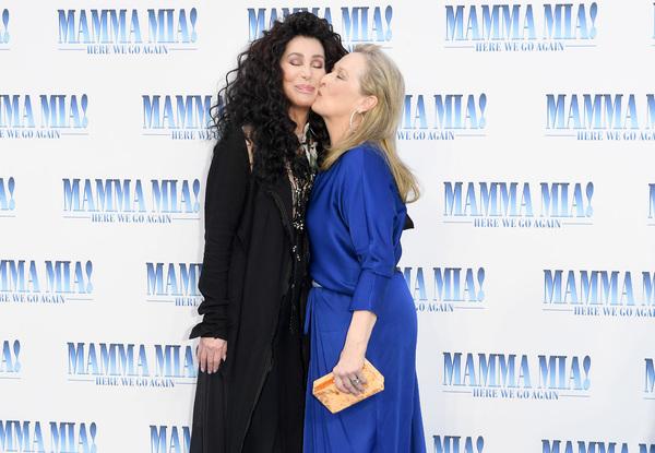 Cher y Meryl Streep Photo