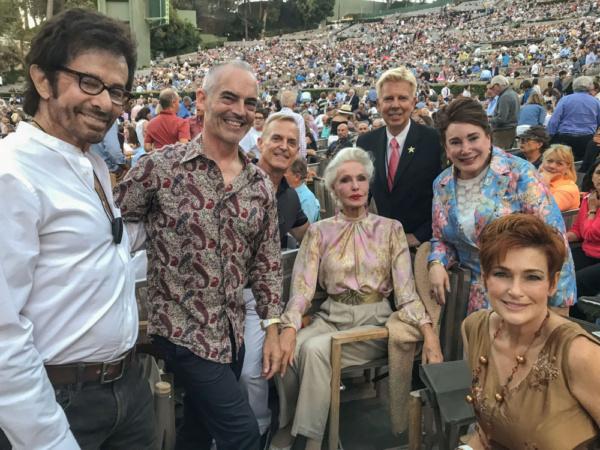 George Chakiris, LA Councilman Mitch O'Farrell, George Braukman, Julie Newmar, Steve Nycklemoe, Donelle Dadigan and Carolyn Hennesy