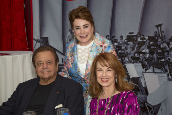 Paul Sorvino, Donelle Dadigan and Lee Purcell