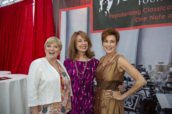 Alison Arngrim, Lee Purcell and Carolyn Hennesy