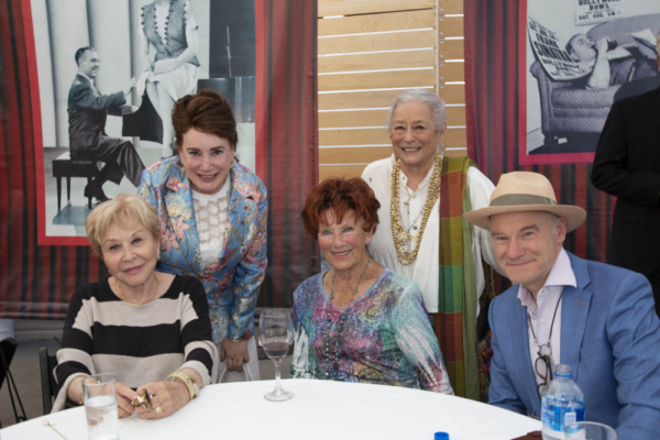 Michael Learned, Donelle Dadigan, Marion Ross, Joan Quin and Jim Meskimen