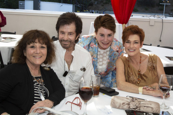 Claudia Cagan, George Chakiris, Donelle Dadigan and Carolyn Hennesy