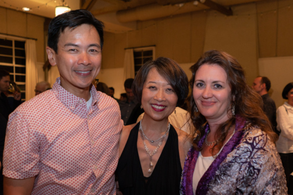 Joel de la Fuente, Jeanne Sakata, Lisa Rothe