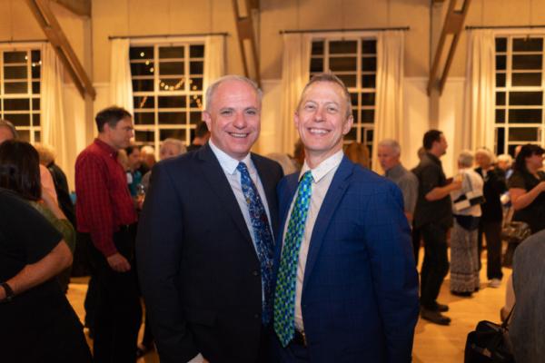 Phil Santora and Christian Asher Photo