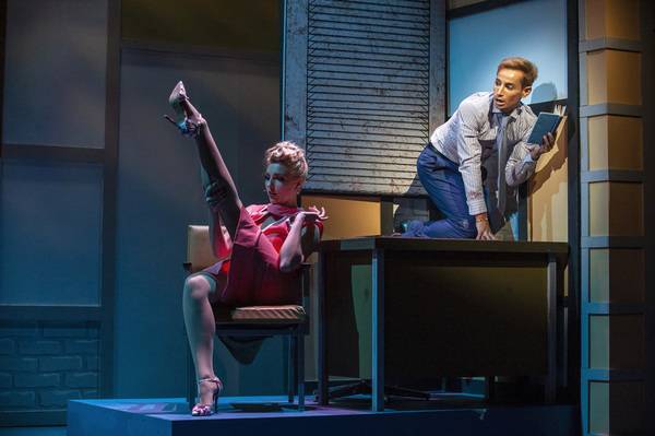 Photo Flash: First Look at HOW TO SUCCEED at Muhlenberg Summer Music Theatre Starring Frankie J. Grande
