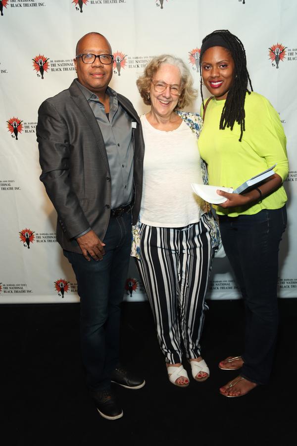Talvin Wilkes, Anne Hamburger, and Nikkole Salter Photo