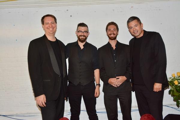The Band-Jerry DeVore, Zak Eldridge, Jonathan Russell and John Fischer (Musical Direc Photo