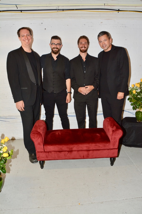 erry DeVore, Zak Eldridge, Jonathan Russell and John Fischer  Photo