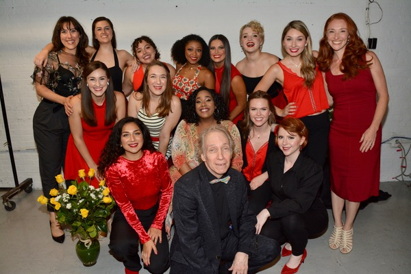 Scott Sigel joins the ladies of Broadway's Rising Stars-Melanie Gettler, Stephanie Bacastow, Emily Royer, Maddy Waters, Brittneyann Accetta, Makyra Alexander, Gigi Encarnacion, Emily Janes, Emma Maxwell, Kelsey Lee Smith, Hannah Mount and Ashley Ryan