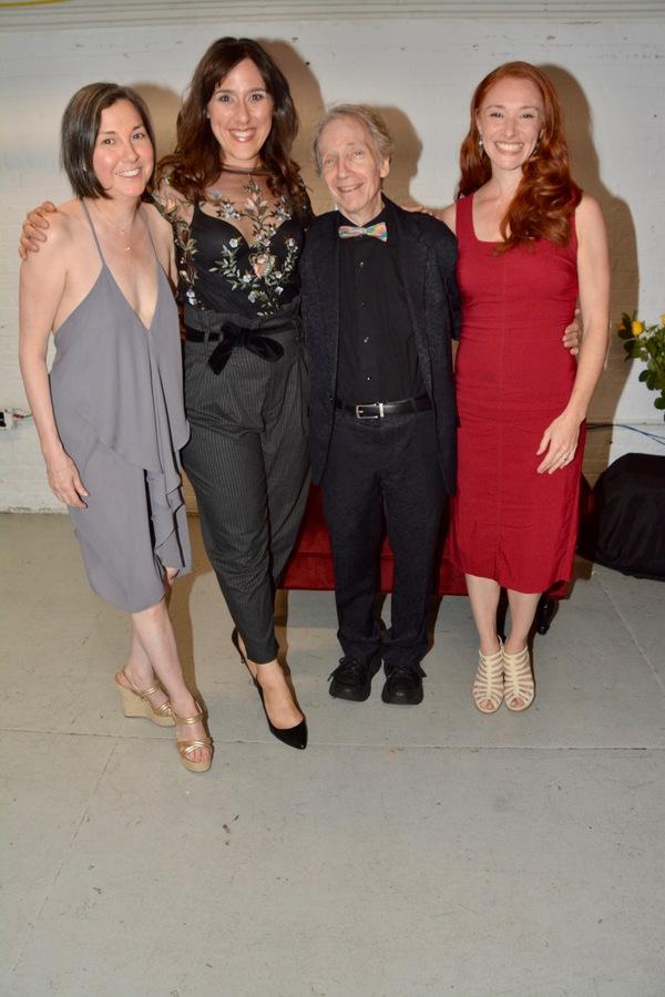 Holly Cruz (Associate Choreographer), Farah Alvin (Co-Director), Scott Siegel and Nil Photo