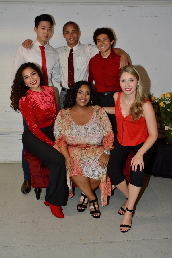 AMDA Students-Dongwoo Kang, William Taitel, Giancarlo Pinzon, Brittneyann Accetta, Gigi Encarnacion and Ashley Ryan