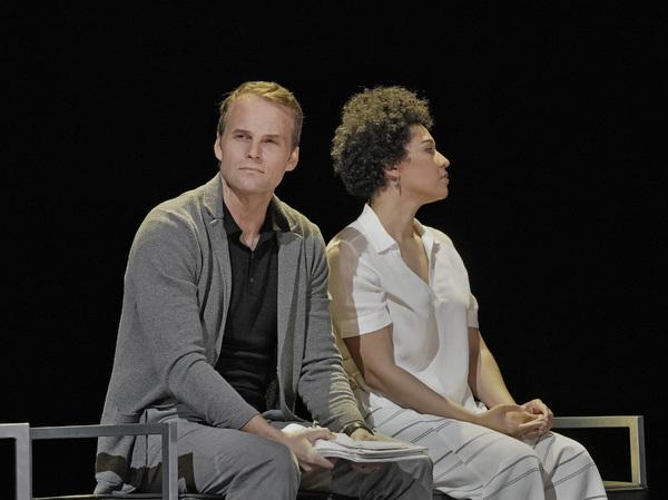 RYAN MCKINNY (ROBERT OPPENHEIMER) AND JULIA BULLOCK (KITTY OPPENHEIMER)