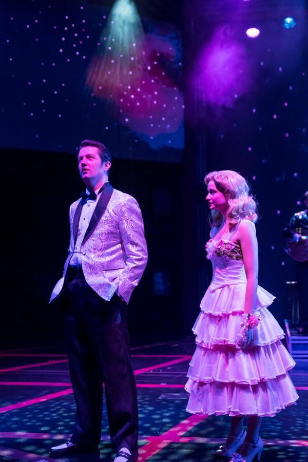 Eddie Clendening (Elvis) and Erin Burniston (Dixie Locke) Photo
