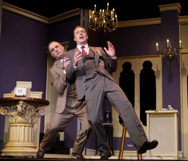 Karl Kasischke as Sipos and Shonn Wiley as Georg