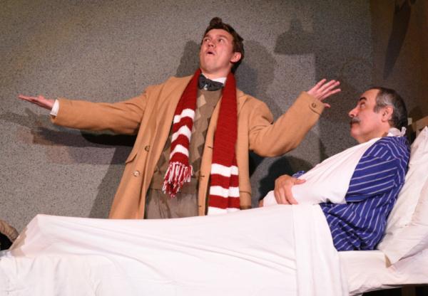 Alan Gibson as Arpad and John Bacarella as Mr. Maraczek