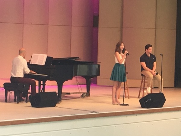 Photo Flash: Laura Osnes, Adam Kaplan, and Usdan Alum Mat Eisenstein Perform at Usdan Summer Camp for the Arts