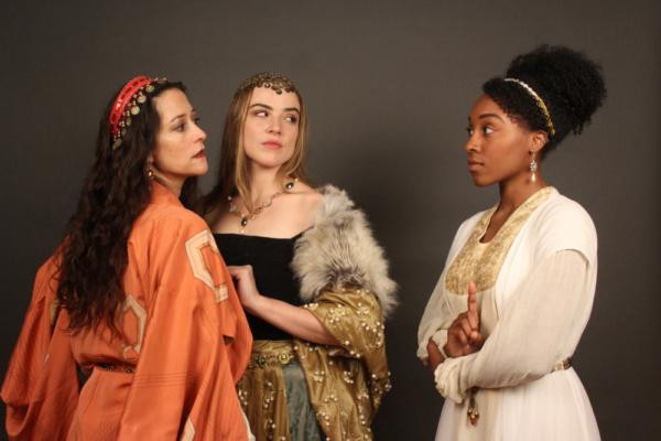 Joy Marr, Kathleen Denecke and Taylor Harris-Butler.