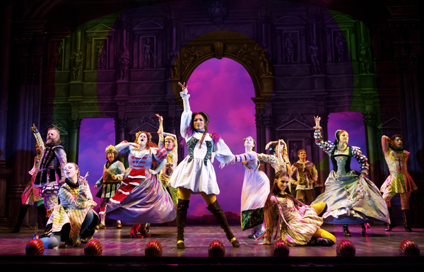 Photo Flash: Welcome to Arcadia! First Look at Go-Go's Musical, HEAD OVER HEELS on Broadway!