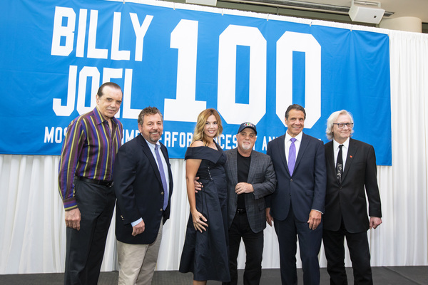 A press conference is held to honor Billy Joel's 100th show at Madison Square Garden  Photo