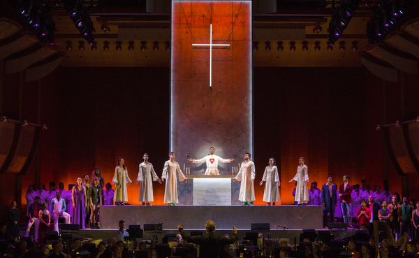 Photo Flash: Bernstein's MASS at the Mostly Mozart Festival