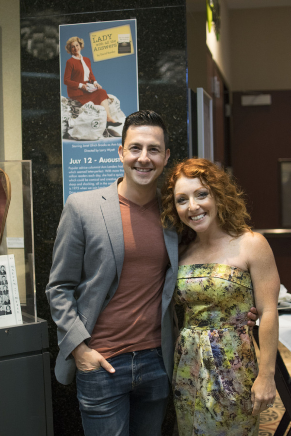 Photo Flash: Ann Landers THE LADY WITH ALL THE ANSWERS Opens At Theatre At The Center In Munster