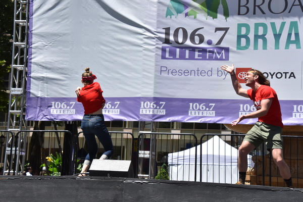 Photo Coverage: PHANTOM, BEAUTIFUL and More Take the Stage at This Week's Broadway in Bryant Park!