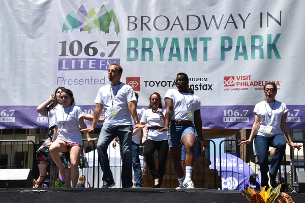 Photos: PHANTOM, BEAUTIFUL and More Take the Stage at This Week's Broadway in Bryant Park!