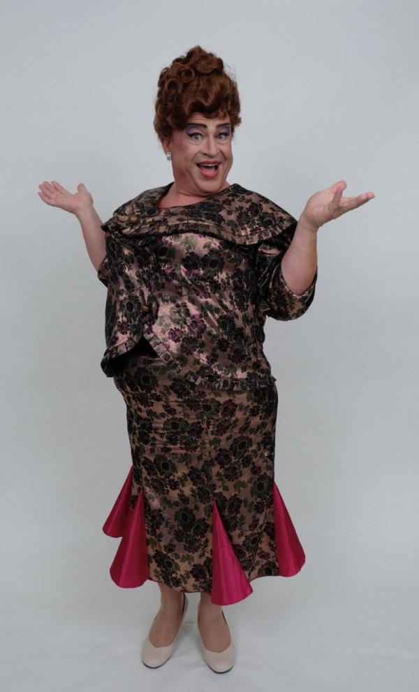 Introducing John Massey as Edna Turnblad.