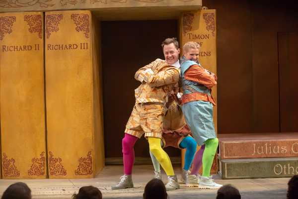 Photo Flash: Cincinnati Shakespeare CompanyPresentsTHE COMPLETE WORKS OF WILLIAM SHAKESPEARE (ABRIDGED)