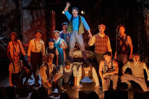 Photo Flash: Aurora Theatre Kicks Off Season with NEWSIES