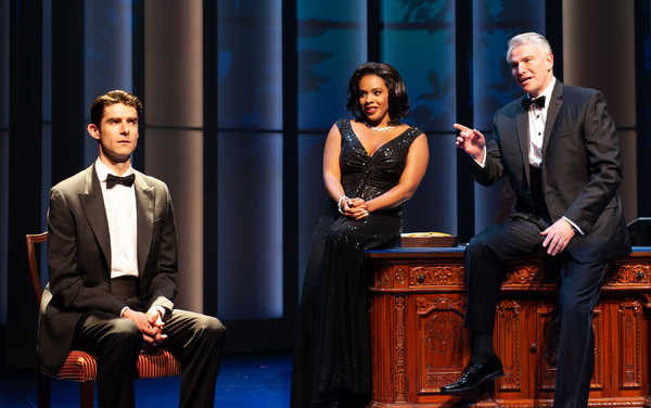 Photo Flash: First Look at Drew Gehling and the Cast of DAVE at Arena Stage