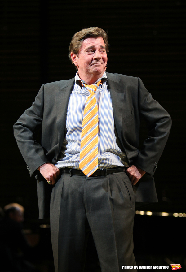 """Gary Beach (""""I'm not at all in Love"""" - THE PAJAMA GAME) performing in BROADWAY BACKWA Photo"""