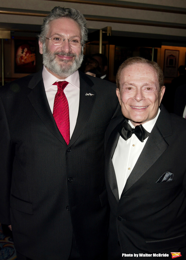 Harvey Fierstein and Jerry Herman