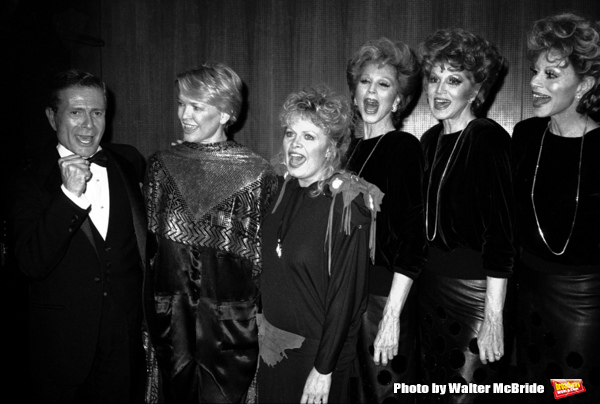 Jerry Herman, Ellen Burstyn, Sally Struthers and the Maguire Sisters