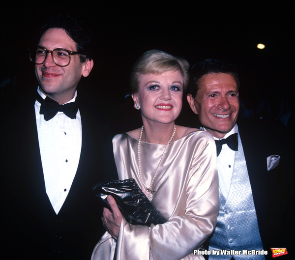 Harvey Fierstein, Angela Lansbury and Jerry Herman
