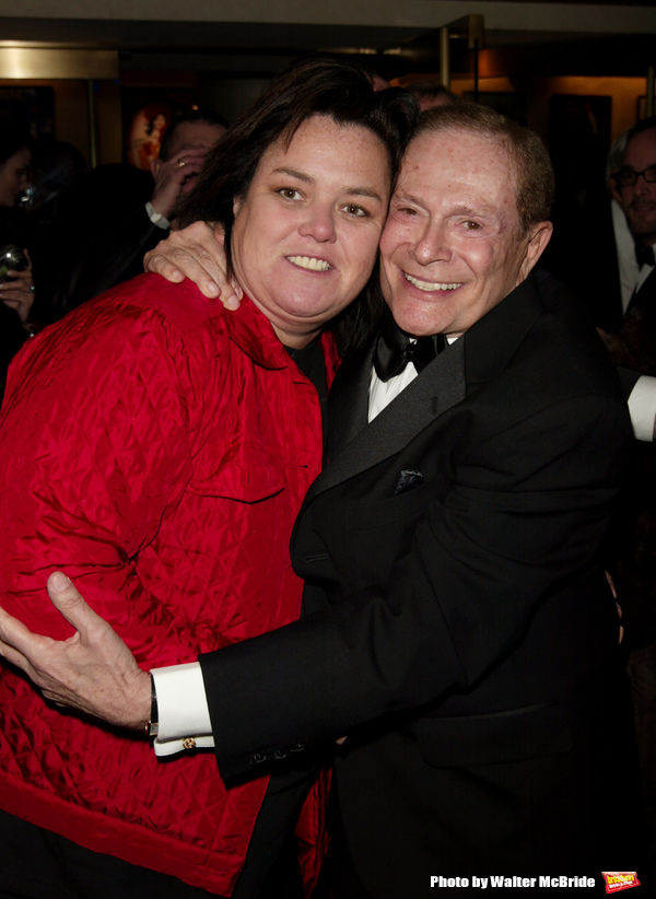 Rosie O'Donnell and Jerry Herman