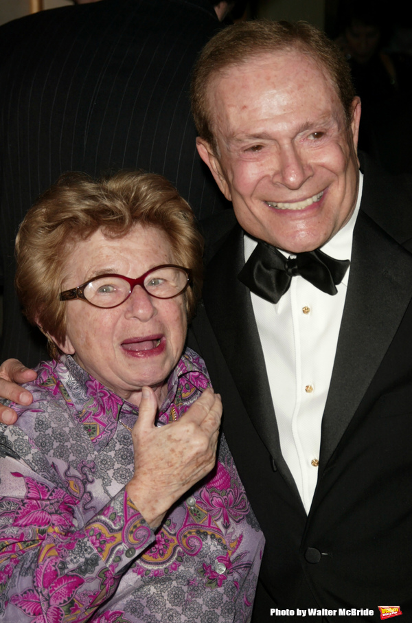 Ruth Westheimer and Jerry Herman