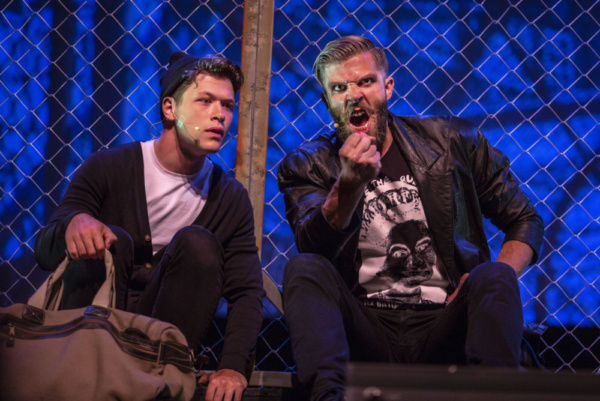 Jack Kay (Anthony) & Jesse Malgieri (Sweeney Todd) Photo: Big Island Magazine Photo