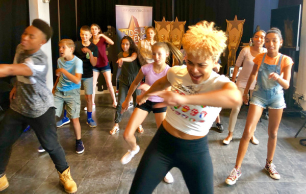 Photos: Kim Exum From Broadway's BOOK OF MORMON Visits Director Walid Chaya To Wrap Actors Connection Performing Arts Camp