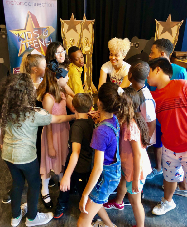 Photo Flash: Kim Exum From Broadway's BOOK OF MORMON Visits Director Walid Chaya To Wrap Actors Connection Performing Arts Camp