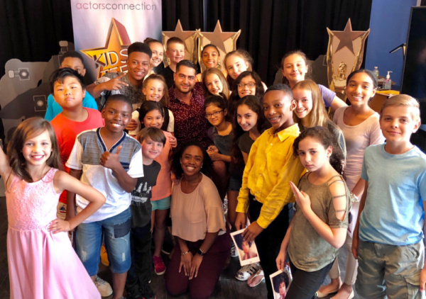 The Kids & Teens of Actors Connection's Performing Arts Camp, July 2018 NY session with Director Walid Chaya and Associate Director Jazelle Foster.