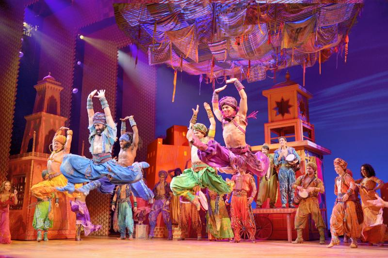 BWW REVIEW: ALADDIN Is a Manic Ride on Disney's Magic Carpet