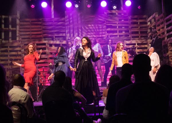 Olivia Harris, Dionne Gipson, Carrie Manolakas, Evan Rachel Wood, and TV Carpio
