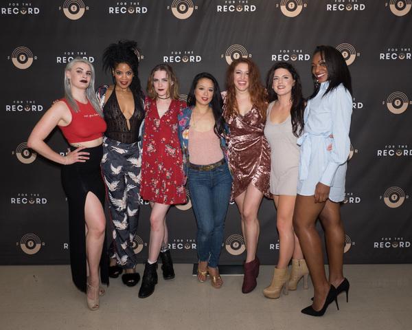 Caitlin Ary, Dionne Gipson, Evan Rachel Wood, TV Carpio, Olivia Harris, Carrie Manolakas, and Olivia Diane Joseph