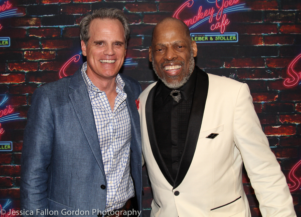Michael Park and Adrian Bailey Photo