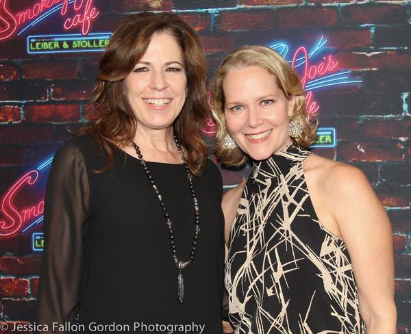 Deb Lyons and Rebecca Luker